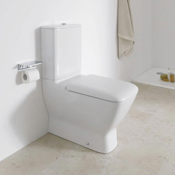 Laufen Palace Close Coupled Toilet (Back to Wall - Rear Inlet) Profile Large Image