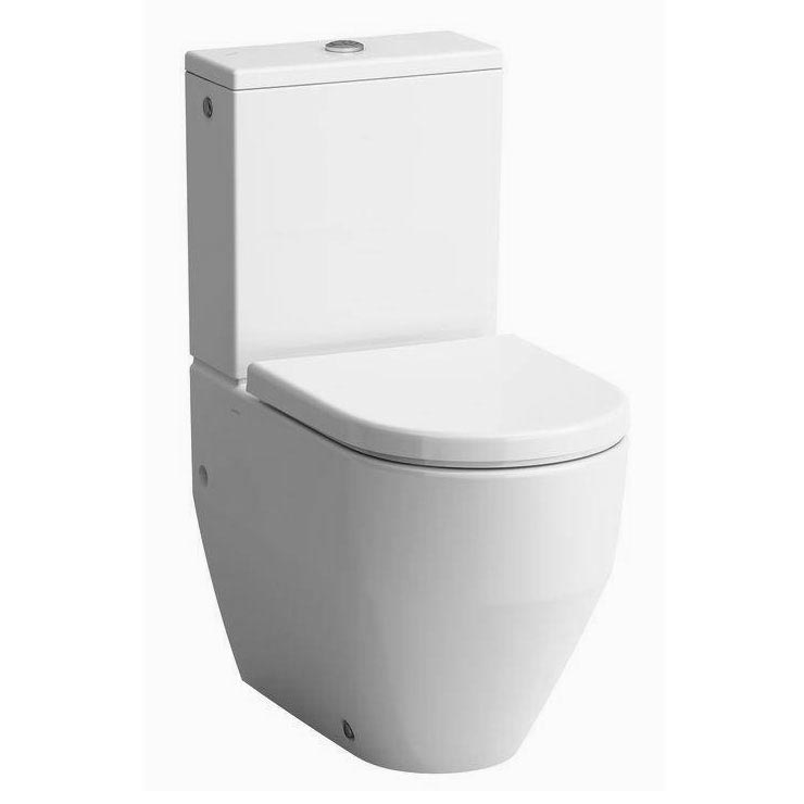 Laufen Pro Close Coupled Toilet (Back to Wall - Rear Inlet) profile large image view 1