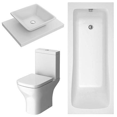 Lazio Modern Bathroom Suite