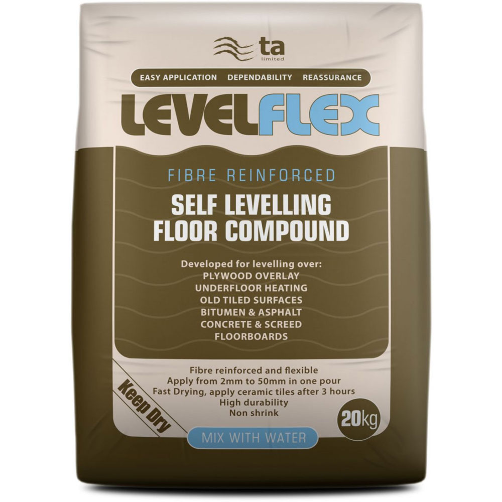 Tilemaster Adhesives - 20kg LevelFlex Self Levelling Floor Compound profile large image view 1