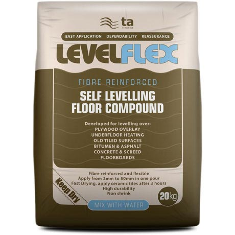 Tilemaster Adhesives - 20kg LevelFlex Self Levelling Floor Compound