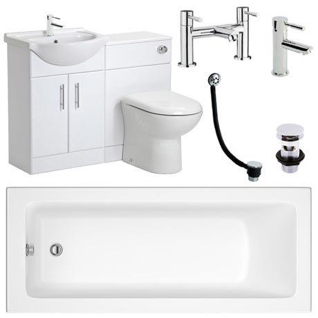 Linton Vanity Unit Complete Bathroom Package - 1700mm