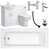 Linton Vanity Unit Complete Bathroom Package - 1700mm Small Image