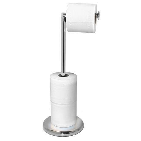 Lloyd Pascal - Freestanding Rotating Arm Toilet Roll Holder - Chrome - 061.02.080