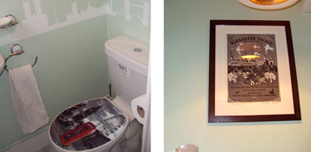 The London Themed Bathroom