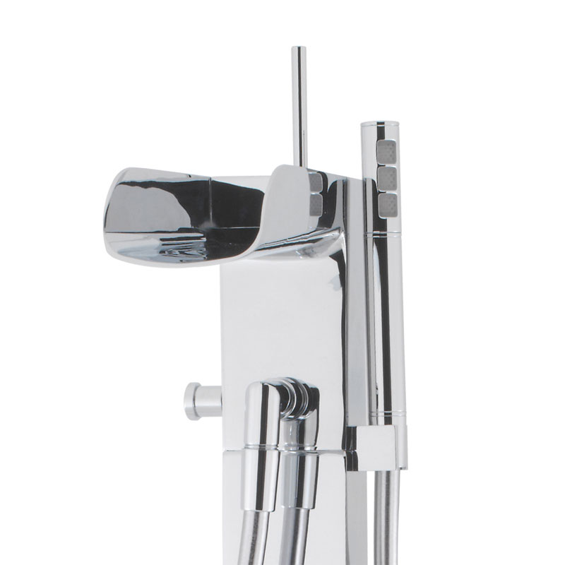 Crosswater - Love Me Floor Mounted Freestanding Bath Shower Mixer - LM415FC Profile Large Image