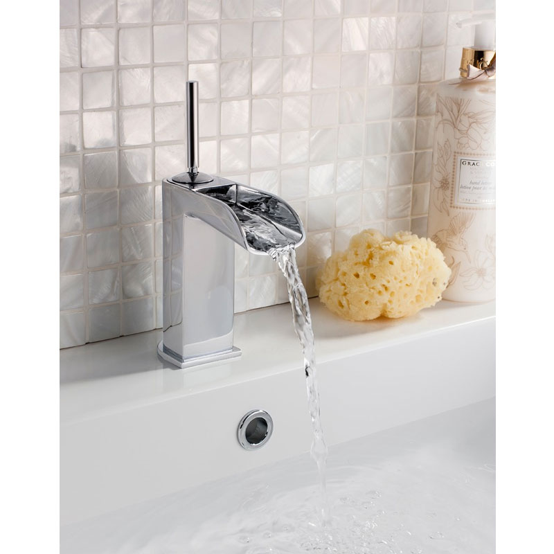 Crosswater - Love Me Mini Monobloc Basin Mixer - LM114DNC profile large image view 2