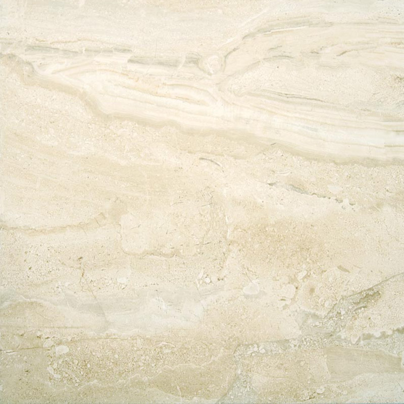 Lucca Light Gloss Marble Effect Floor Tiles - 45 x 45cm Large Image