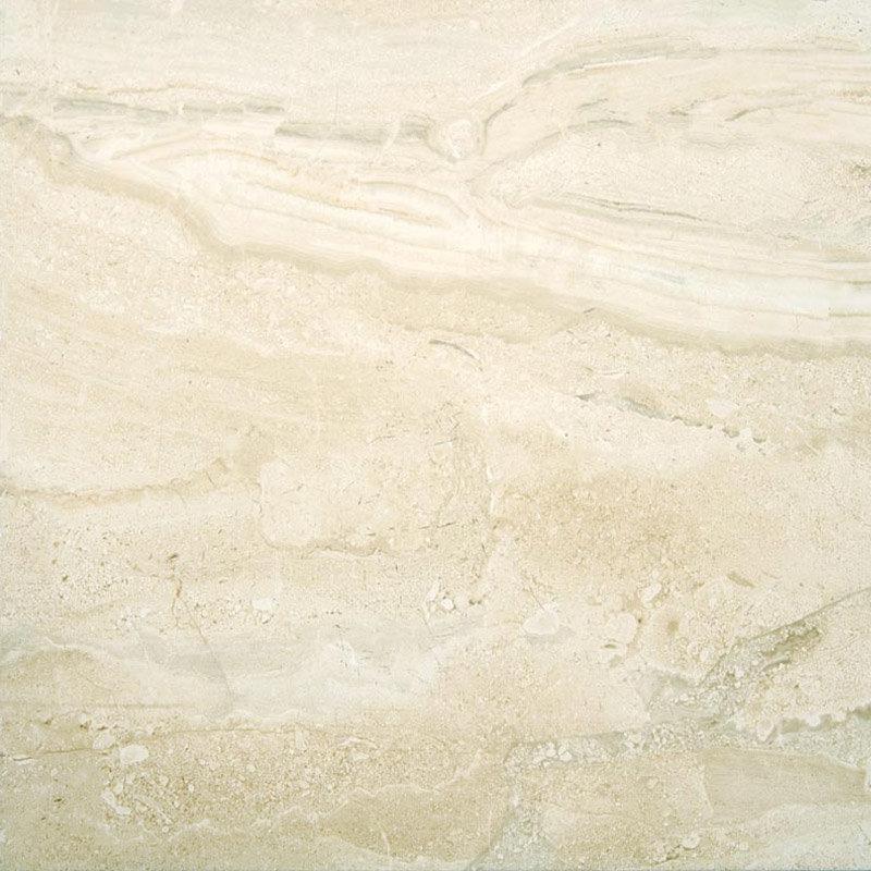 Lucca Light Gloss Marble Effect Floor Tiles - 45 x 45cm Large Image