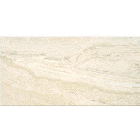 Lucca Light Gloss Marble Effect Wall Tiles - 31.6 x 60cm