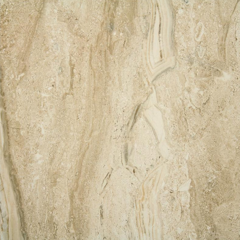 Lucca Natural Gloss Marble Effect Floor Tiles - 45 x 45cm Large Image