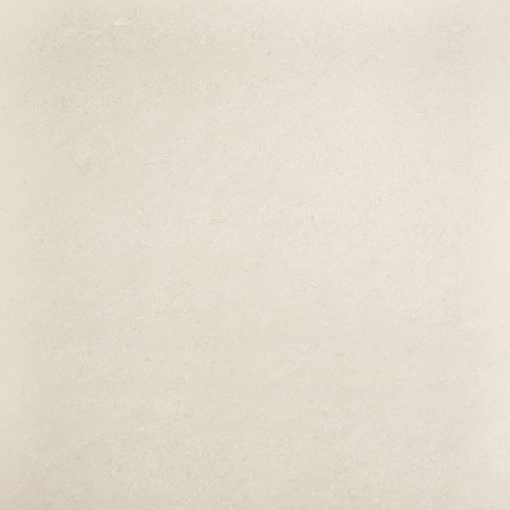 Luna Light Beige Porcelain Polished Floor Tiles - 600x600mm Large Image