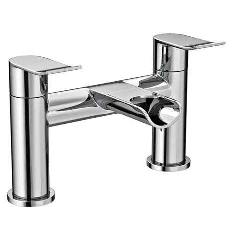 Luna Waterfall Bath Filler - Chrome