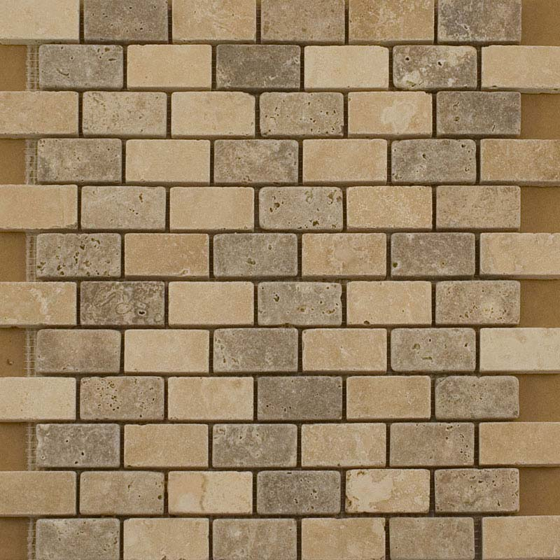 BCT Tiles Naturals Stone Multiuse Mosaic Tiles - 305 x 305mm - M000117 Large Image