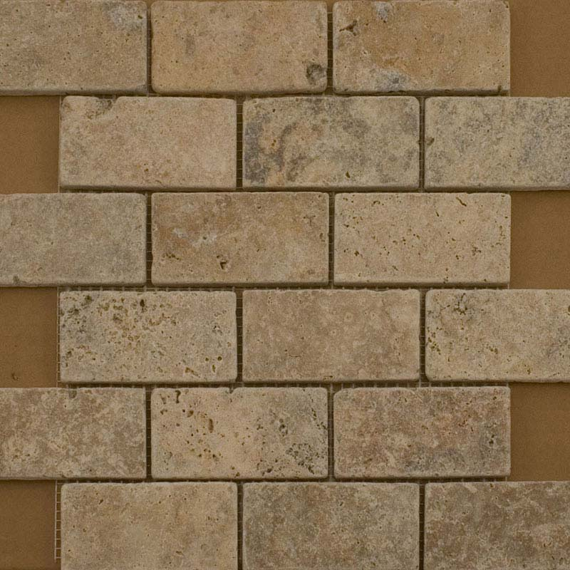 BCT Tiles Naturals Stone Multiuse Mosaic Tiles - 305 x 305mm - M000119 Large Image