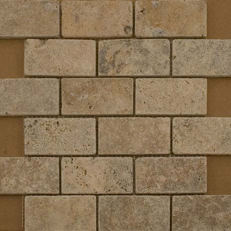 BCT Tiles Naturals Stone Multiuse Mosaic Tiles - 305 x 305mm - M000119