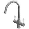 Marple Traditional Chrome Instant Boiling Water Kitchen Tap (Includes Tap, Boiler + Filter) profile small image view 1