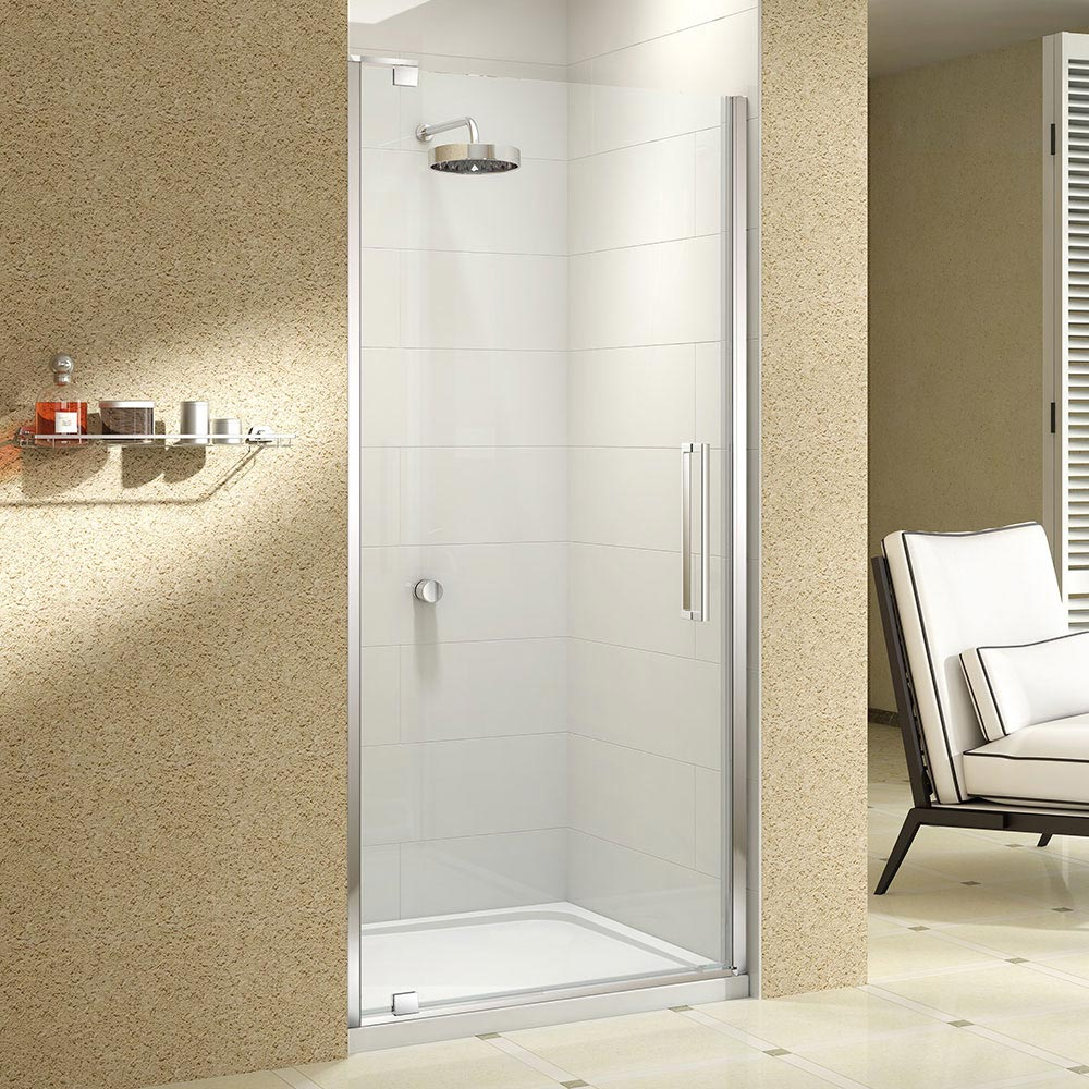 Merlyn 10 Series Pivot Shower Door Large Image