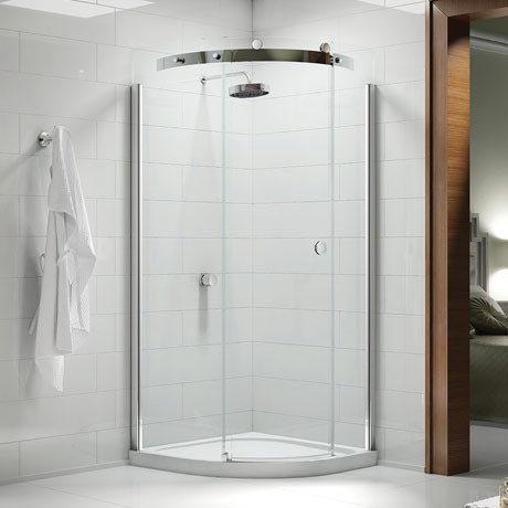 Merlyn 10 Series 1 Door Quadrant Enclosure - (800 x 800mm - Left Hand)