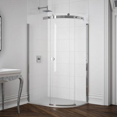 Merlyn 10 Series 1 Door Offset Quadrant Enclosure - (1400 x 800mm - Right Hand)
