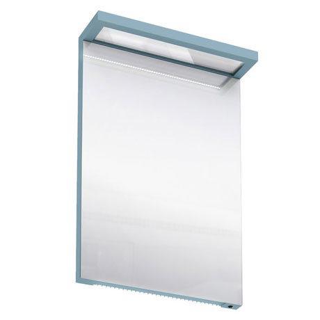 Aqua Cabinets - 500mm Wide Illuminated LED Mirror - Ocean - M10O