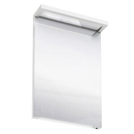 Aqua Cabinets - 500mm Wide Illuminated LED Mirror - White - M10W