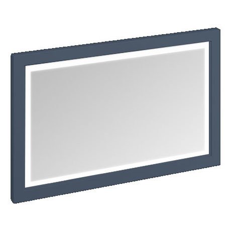 Burlington Framed 120 Mirror with LED Illumination - Blue