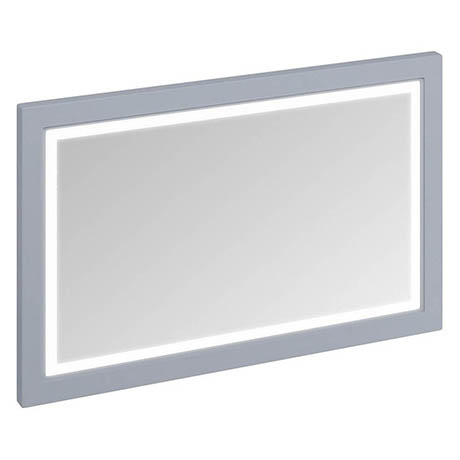 Burlington Framed 120 Mirror with LED Illumination - Classic Grey