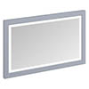 Burlington Framed 120 Mirror with LED Illumination - Classic Grey profile small image view 1