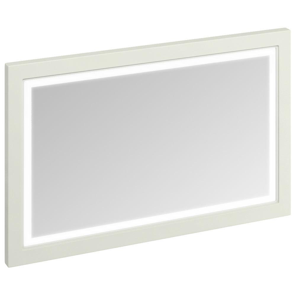 Burlington Framed 120 Mirror with LED Illumination - Sand Large Image