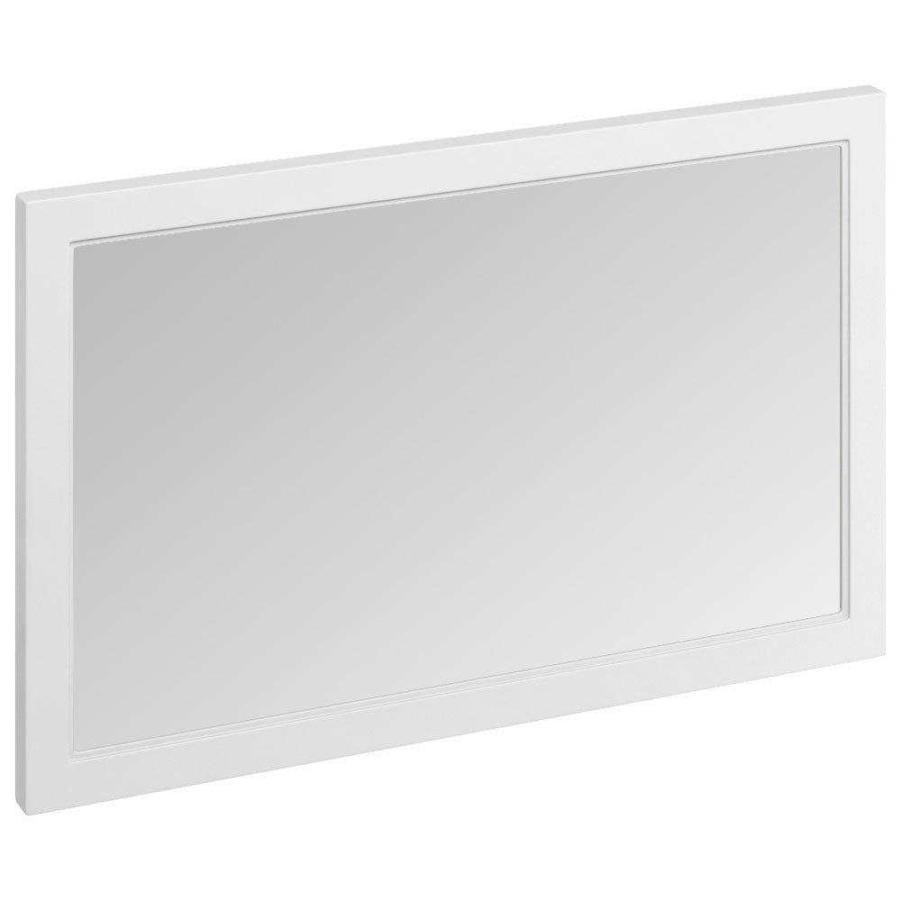 Burlington Framed 120 Mirror - Matt White Large Image