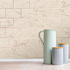 Fine Decor Metro Brick Marble Rose Gold Wallpaper - M1510 profile small image view 1