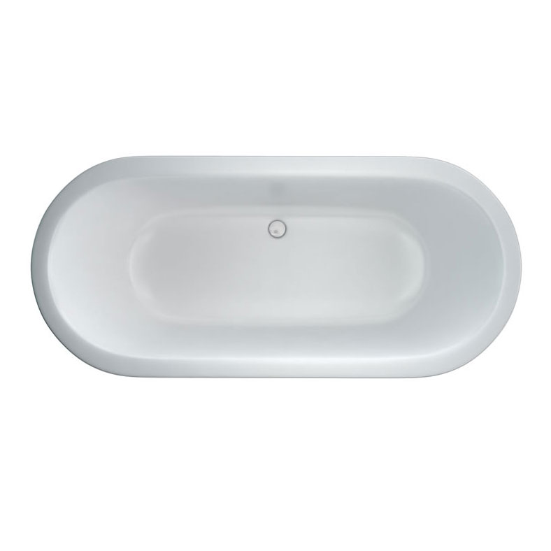 Clearwater - Nouveau 1780 x 810 Modern Freestanding Bath - M1A profile large image view 2