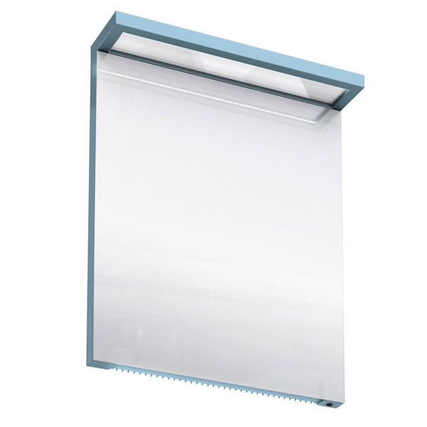Aqua Cabinets - 600mm Wide Illuminated LED Mirror - Ocean - M20O Large Image
