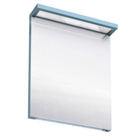 Aqua Cabinets - 600mm Wide Illuminated LED Mirror - Ocean - M20O