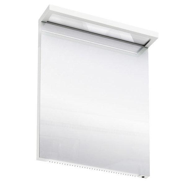 Aqua Cabinets - 600mm Wide Illuminated LED Mirror - White - M20W Large Image