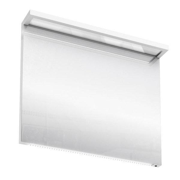 Aqua Cabinets - 900mm Wide Illuminated LED Mirror - White - M30W Large Image