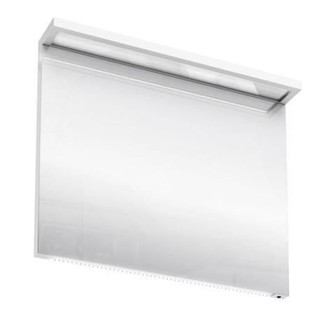 Aqua Cabinets - 900mm Wide Illuminated LED Mirror - White - M30W
