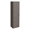 Monza Grey Avola 350mm Wide Tall Wall Hung Unit (Depth 250mm) profile small image view 1