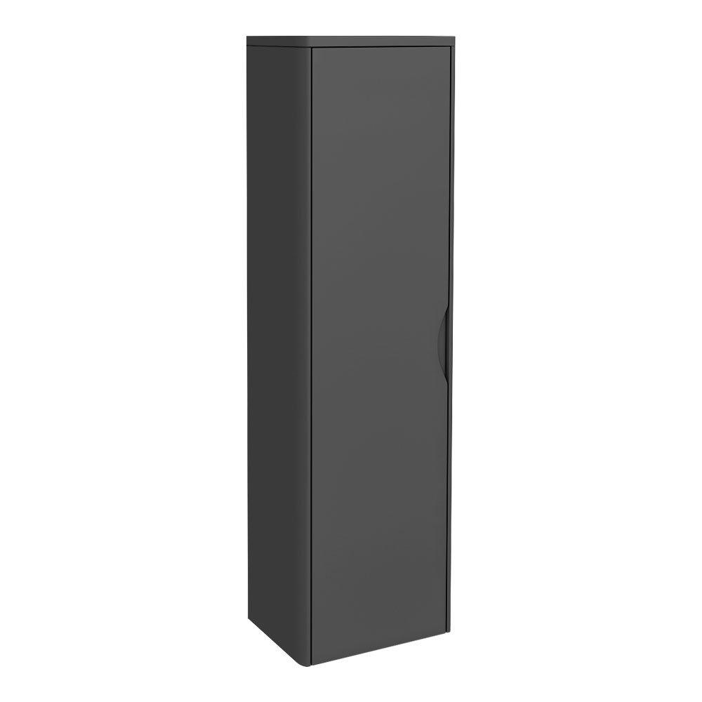 Monza Grey 350mm Wide Tall Wall Hung Unit (Depth 250mm)