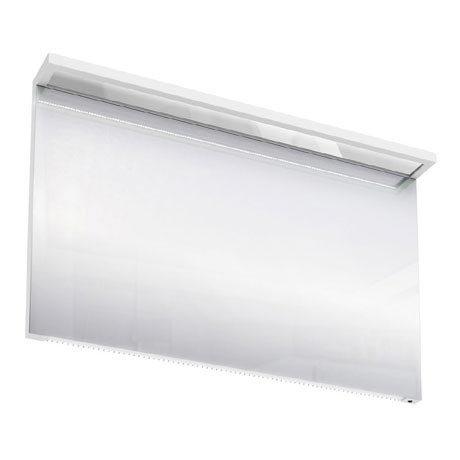 Aqua Cabinets - 1200mm Wide Illuminated LED Mirror - White - M40W