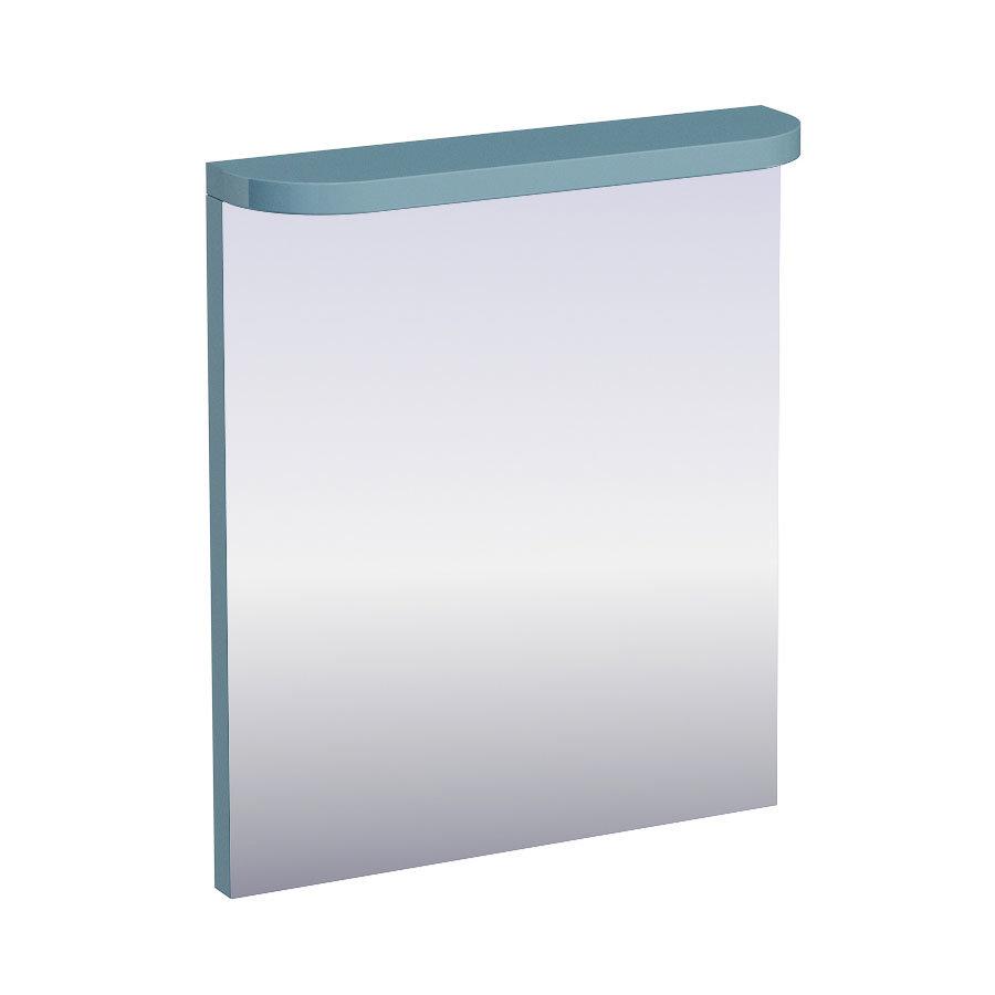Aqua Cabinets - 600mm Wide Compact Illuminated LED Mirror - Ocean - M50O Large Image