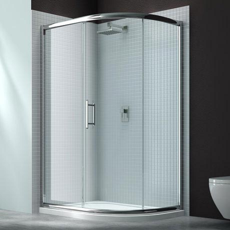 Merlyn 6 Series 1 Door Offset Quadrant Shower Enclosure - 1200 x 800mm