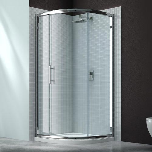 Merlyn 6 Series 1 Door Quadrant Shower Enclosure - 900 x 900mm profile large image view 1