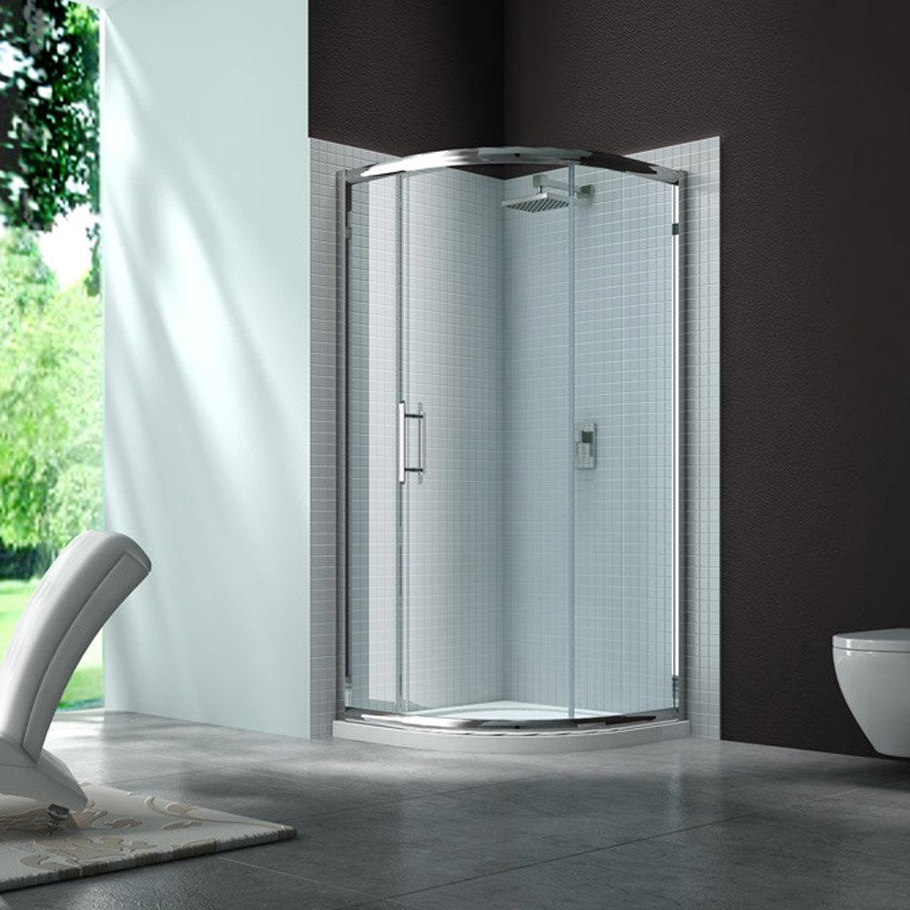 Merlyn 6 Series 900 x 900mm 1 Door Quadrant Shower Enclosure