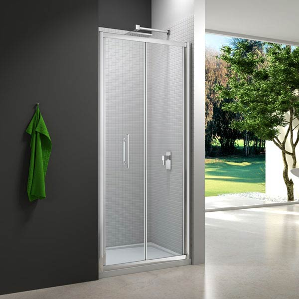 Merlyn 6 Series Bifold Shower Door profile large image view 1