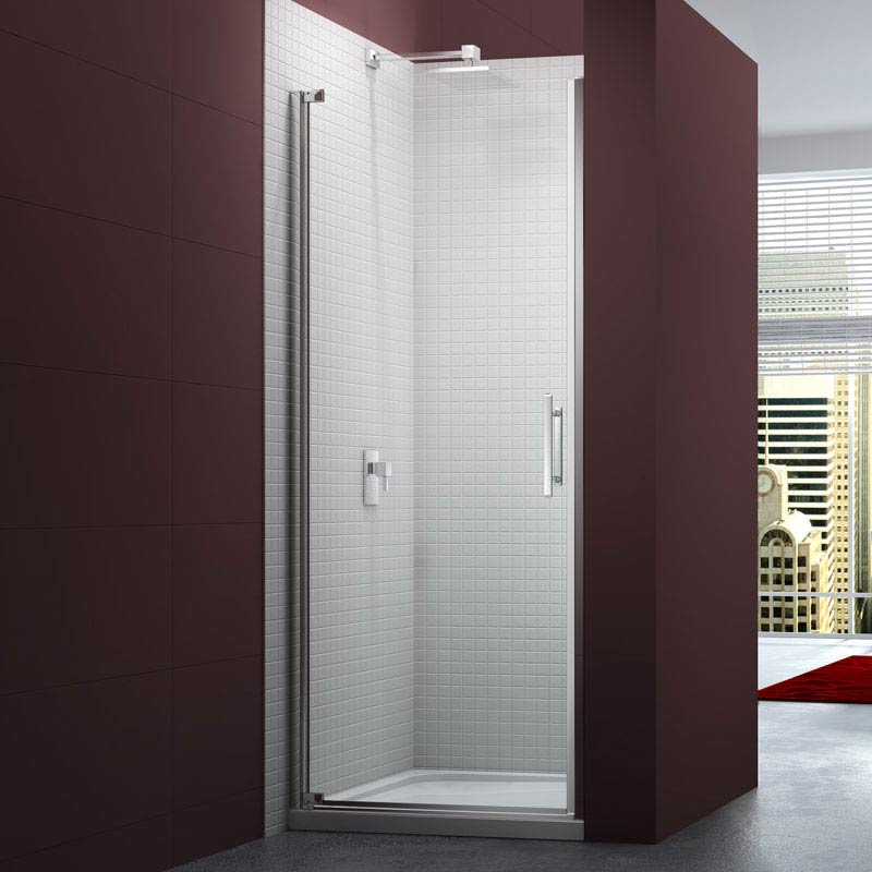 Merlyn 6 Series Frameless Pivot Shower Door Large Image