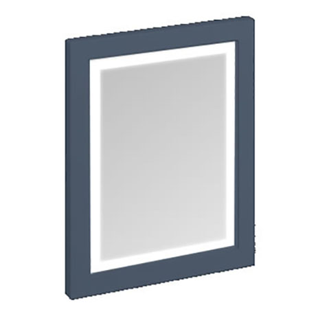 Burlington Framed 60 Mirror with LED Illumination - Blue