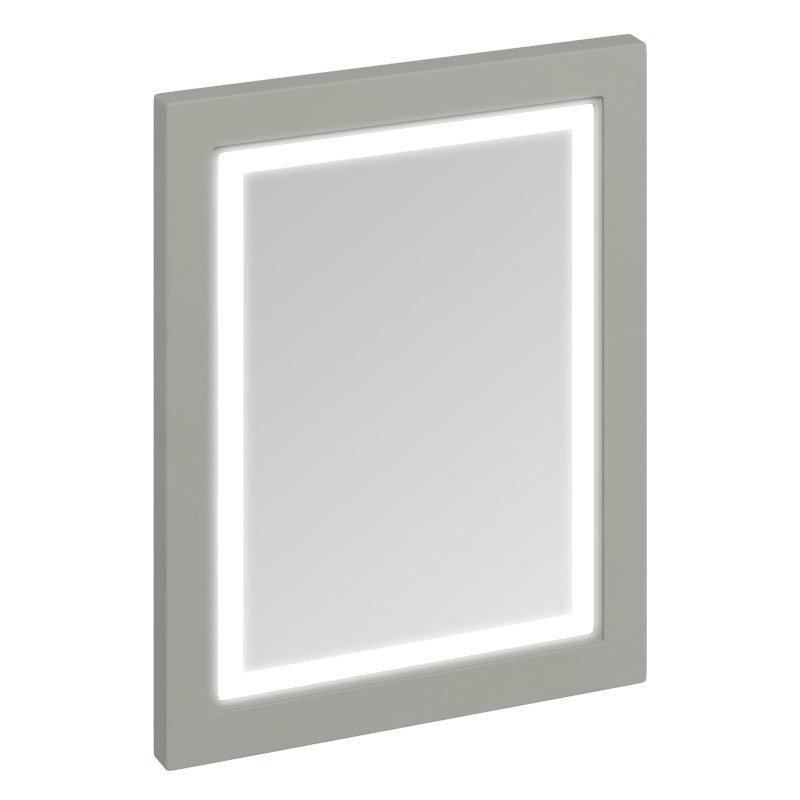 Burlington Framed 60 Mirror with LED Illumination - Dark Olive profile large image view 1