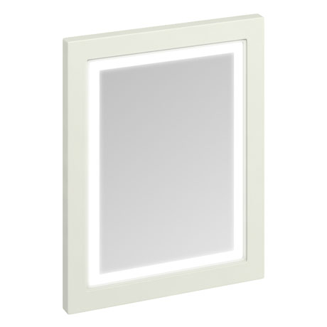 Burlington Framed 60 Mirror with LED Illumination - Sand